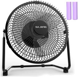 OPOLAR Battery Operated Rechargeable Desk Fan for Home Campi