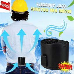 Outdoor Mobile Air Conditioning Cooling USB Hang Waist Fan P