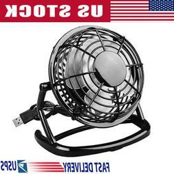 Personal Desk Table Cooling Fan USB Small Air Circulator Qui