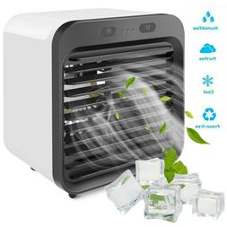 Portable Air Conditioner Mini Cooler Fan Humidifier Purifier