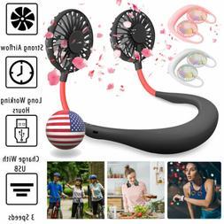 portable dual cooling mini sport fan usb