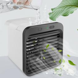 Portable Mini Air Cooler Fan Air Conditioner Humidifier 2 In