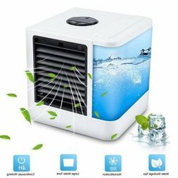 Summer Mini Fan Air Cooler Purifier Humidifier Portable USB