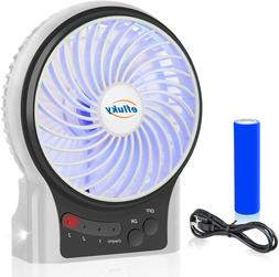 Portable Mini Usb Desk Fan Rechargeable Battery Operated coo