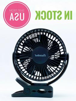 Portable USB Mini Fan 5200mA Battery Operated Rechargeable C