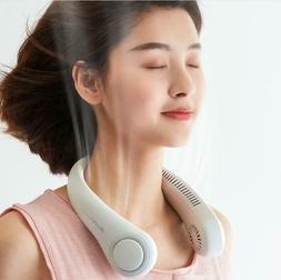 Portable USB Rechargeable Fan Air Cooling Neck Fan Air Coole