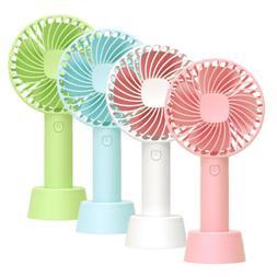 Portable USB Rechargeable Mini Handy Fan Air Cooler Mini Fan