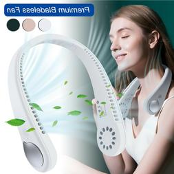 Portable USB Rechargeable Mini Neck Wearable Cooling Air Con
