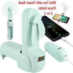 Portable USB Rechargeable Mini Pocket Fan Handheld Desk Fan