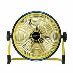 Geek Aire Rechargeable Outdoor Floor High Velocity Fan, Cord