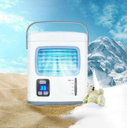 Rechargeable Portable USB Air Conditioner Cool Cooling Humid