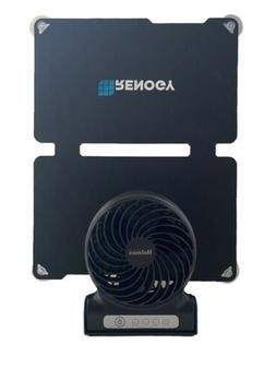 Solar Powered Rechargeable Fan - 10W Solar Panel