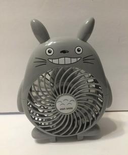 Totoro Portable Fan Handheld Rechargeable Mini Fans Anime US