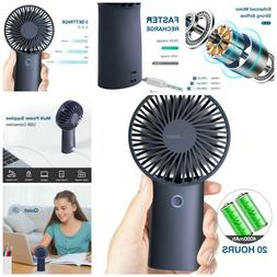 USB Handheld Fan Mini Small Portable Rechargeable Travel Cam