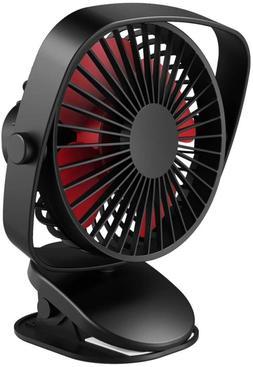 versiontech clip on stroller fan mini personal