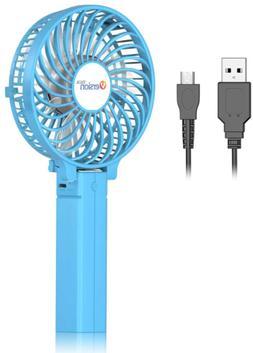 versiontech mini handheld fan usb desk fan