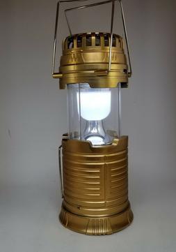 XL Camp/Tent Light Lantern Lamp Solar Rechargeable LED Flash